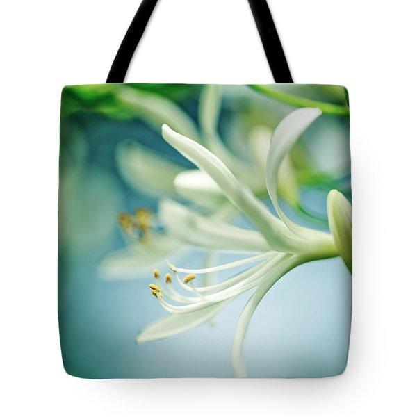 Soft White Tote Bag