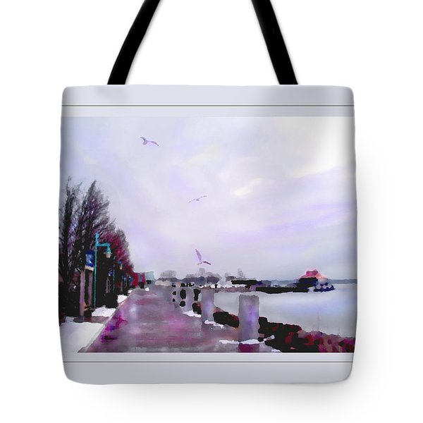 Tote Bag featuring the photograph Soft Winter Day by Felipe Adan Lerma