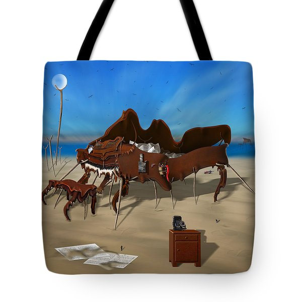 Softe Grand Piano Se Sq Tote Bag by Mike McGlothlen