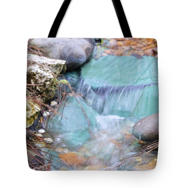 Softly Falling Tote Bag by Warren Thompson