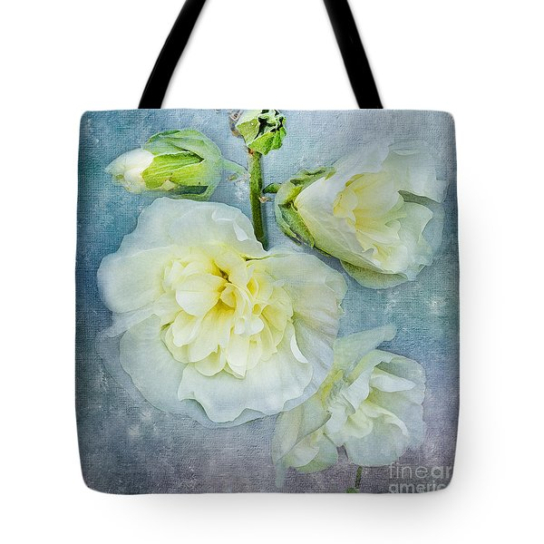 Tote Bag featuring the photograph Softly In Blue by Betty LaRue