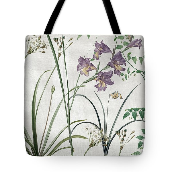 Softly Purple Crocus Tote Bag