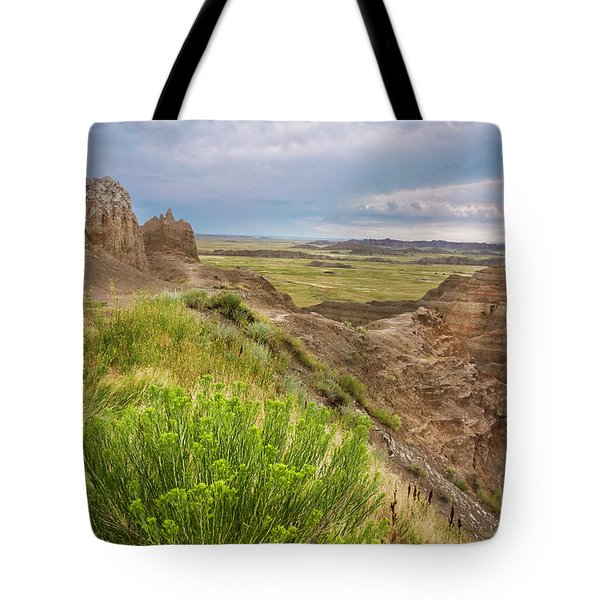 Softly Rumbling Sky Tote Bag
