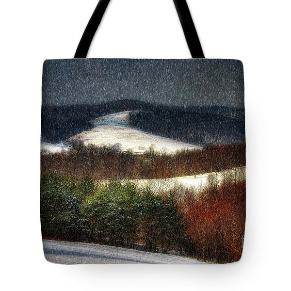 Softly Sifting Tote Bag by Lois Bryan