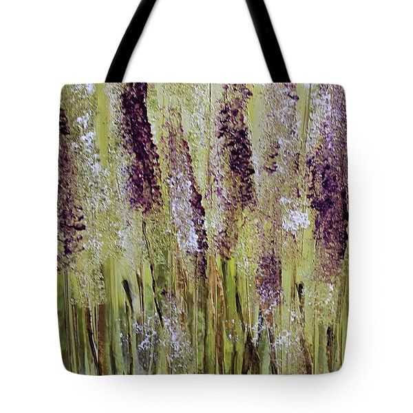 Softly Swaying Tote Bag
