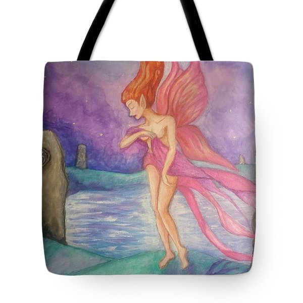 Softly,on The Wings Of Night Tote Bag