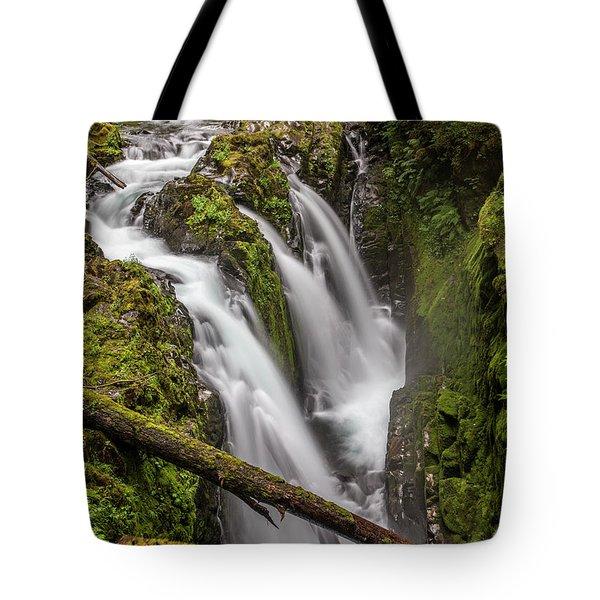 Sol Duc Falls Tote Bag