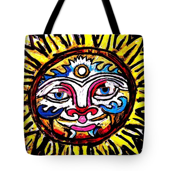 Sol Horizon Band Tote Bag