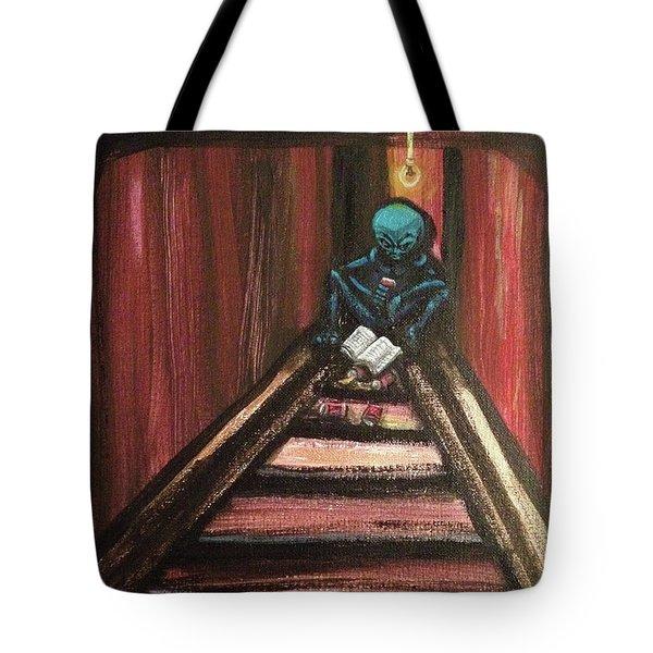 Solamente Alien Tote Bag