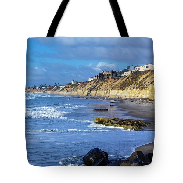 Solana Beach Tote Bag