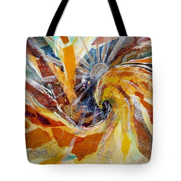 Solar Chakra Meditation Tote Bag