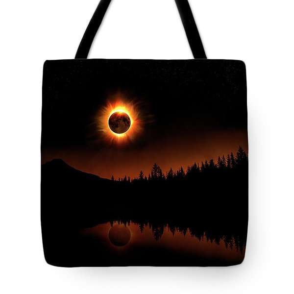 Solar Eclipse 2017 Tote Bag