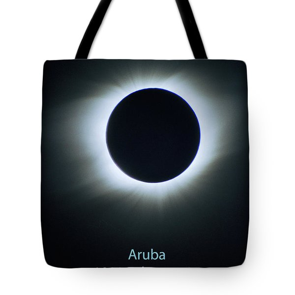 Solar Eclipse Aruba 1998 Tote Bag