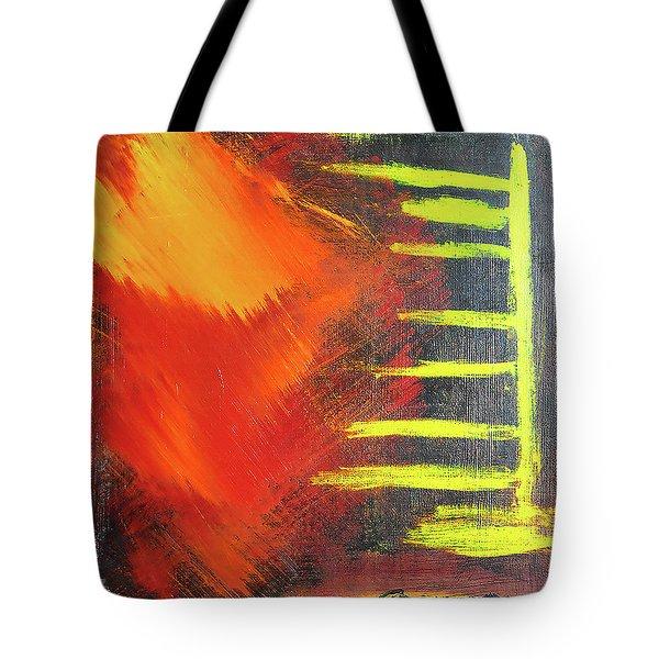 Solar Flare Tote Bag