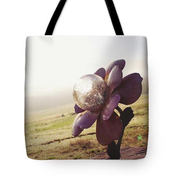 Solar Flower Tote Bag