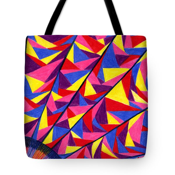Solar Fractals Tote Bag by Kim Sy Ok