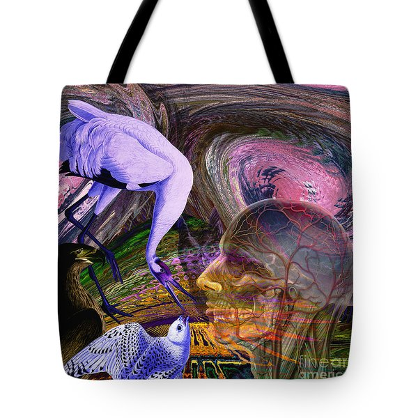 Solar Whisper Winds Of Change Tote Bag