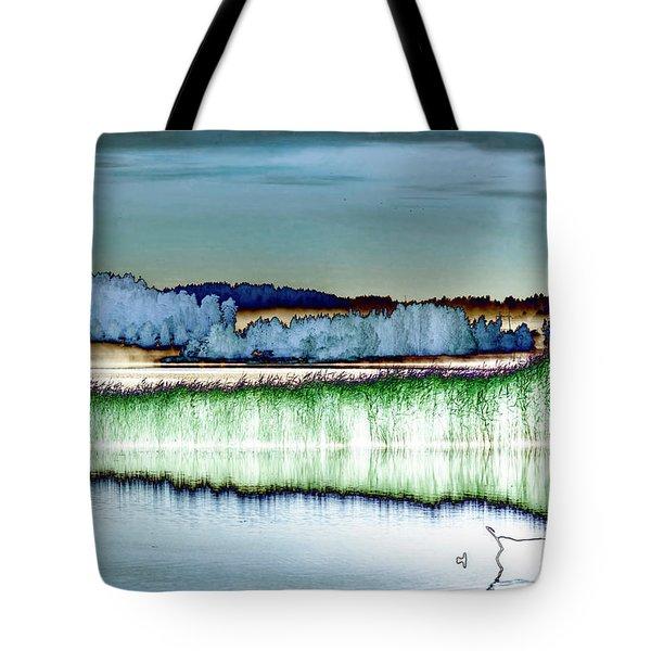 Solarisation Tote Bag