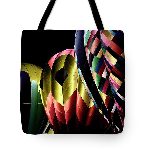 Solarized Balloons Tote Bag