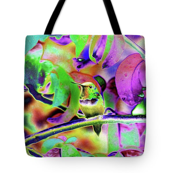 Solarized Hummer Tote Bag