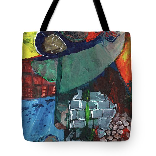 Soldier Family Sacrifice Tote Bag