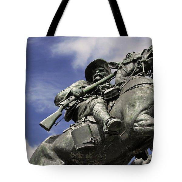 Soldier In The Boer War Tote Bag