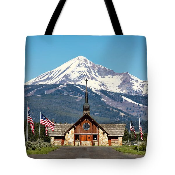 Soldiers Chapel Tote Bag