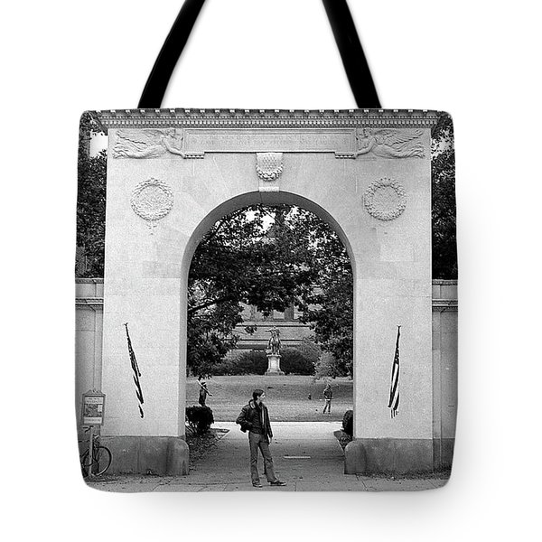 Soldiers Memorial Gate, Brown University, 1972 Tote Bag