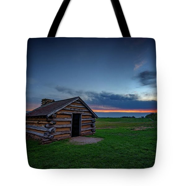 Soldier's Quarters At Valley Forge Tote Bag
