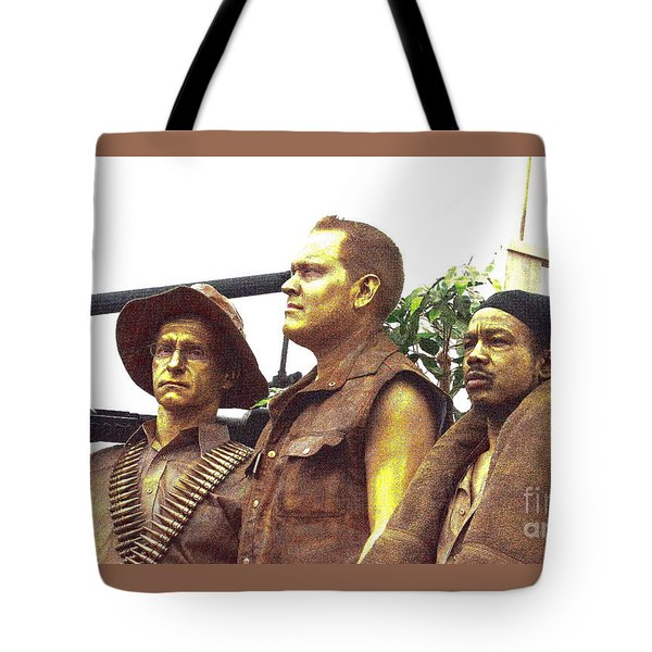 Soldier's Tribute Tote Bag