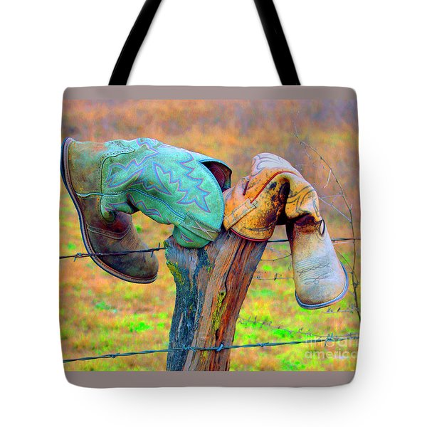 Tote Bag featuring the photograph Sole Mates by Joe Jake Pratt