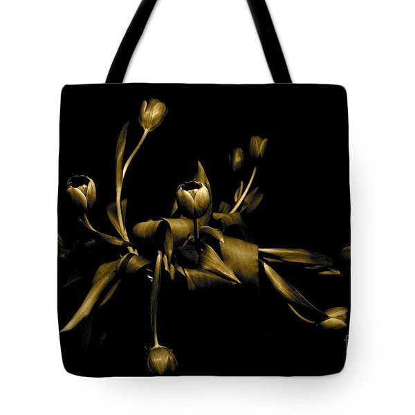 Tote Bag featuring the photograph Solid Gold by Danica Radman