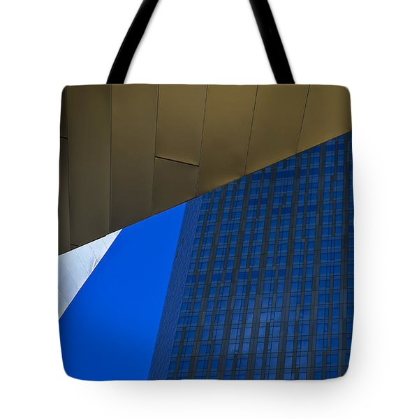 Solid Gold Tote Bag by Skip Hunt