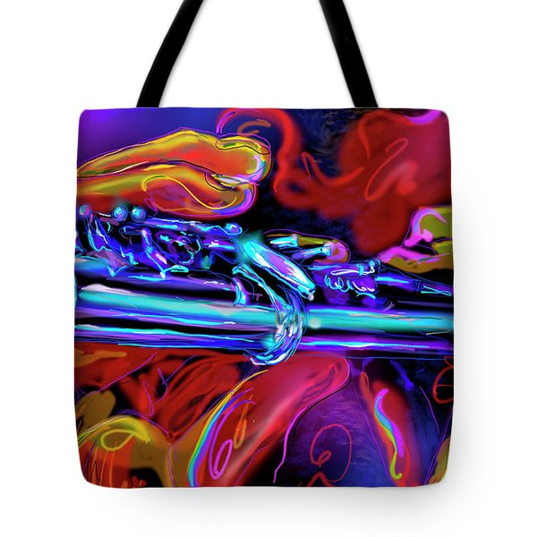 Solid Silver Tote Bag