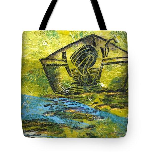 Solitaire Tote Bag by Cynthia Lagoudakis