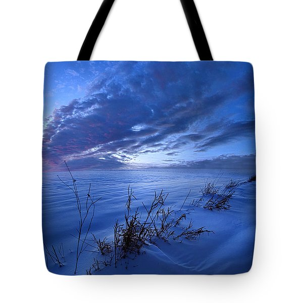 Solitaire Moments Dressed In Blue Tote Bag