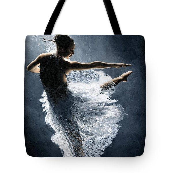 Solitaire Tote Bag by Richard Young