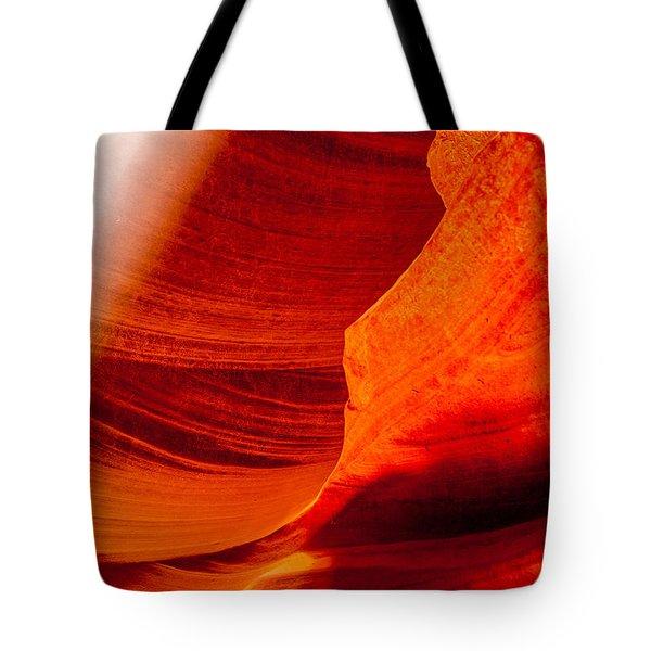 Solitary Beam Tote Bag