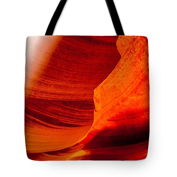 Solitary Beam Tote Bag
