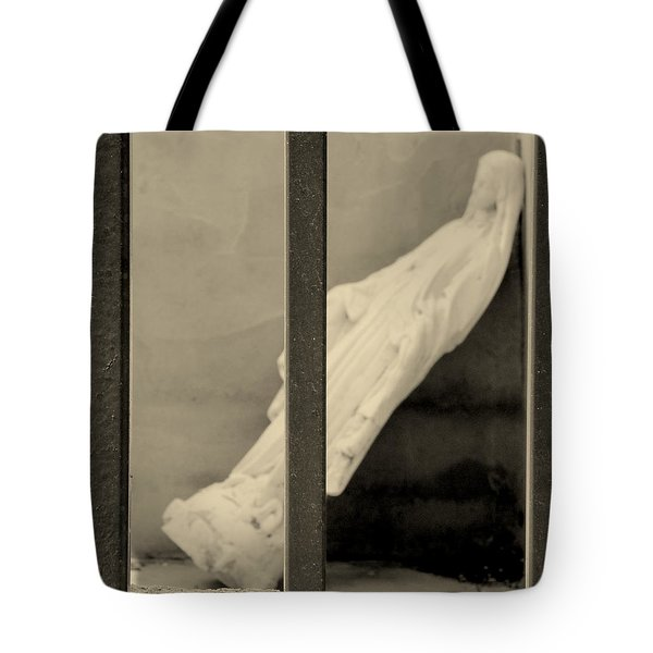 Solitary Confinement Tote Bag by Ed Smith