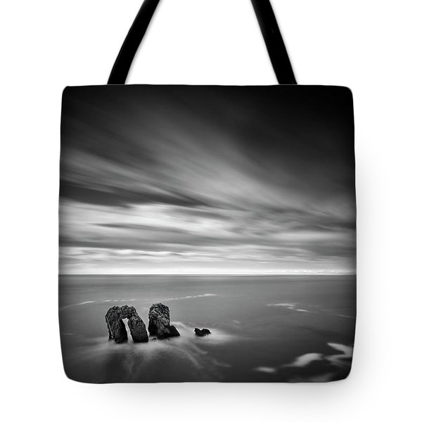 Solitary Conversation  Tote Bag by Dominique Dubied
