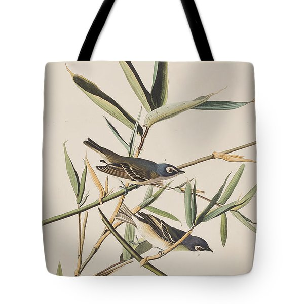 Solitary Flycatcher Or Vireo Tote Bag by John James Audubon