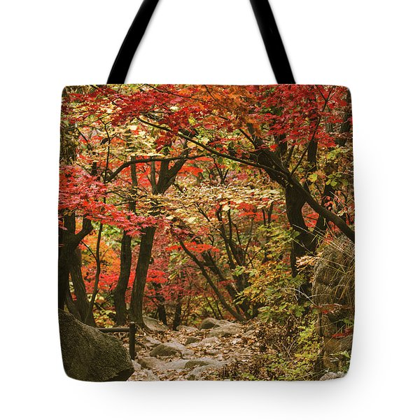 Solitary Tote Bag by Hyuntae Kim