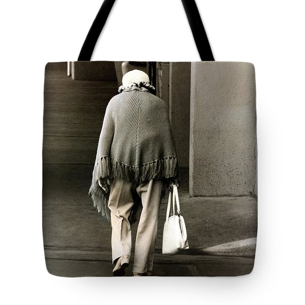 Solitary Lady Tote Bag
