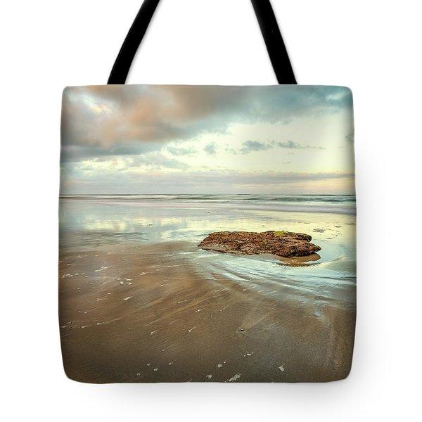 Solitary Rock Tote Bag