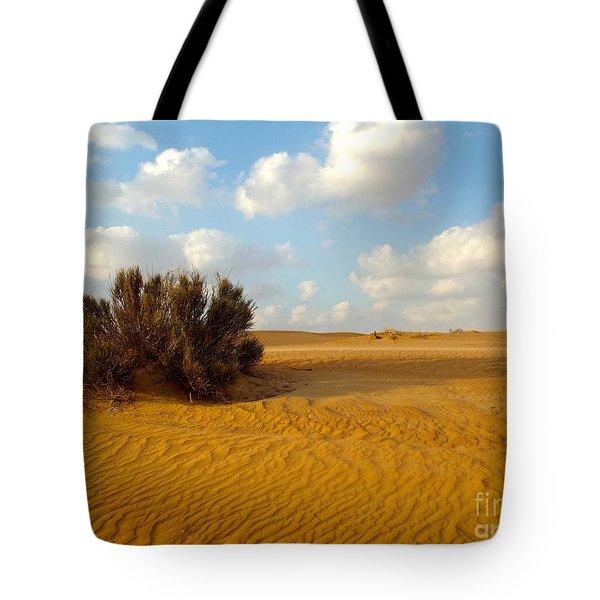 Solitary Shrub Tote Bag