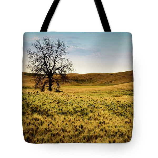 Solitary Tree Tote Bag by Chris McKenna