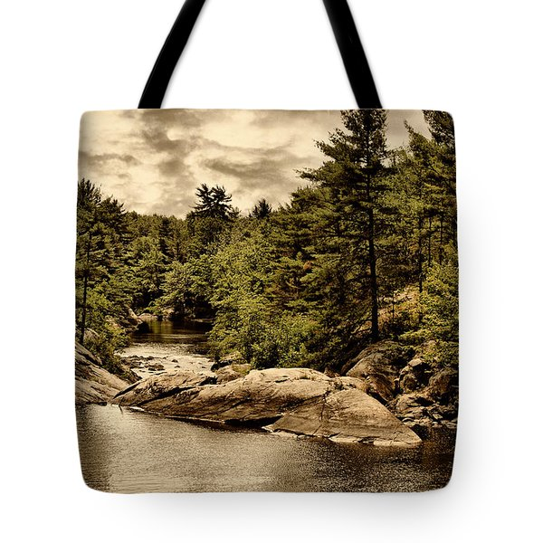 Solitary Wilderness Tote Bag
