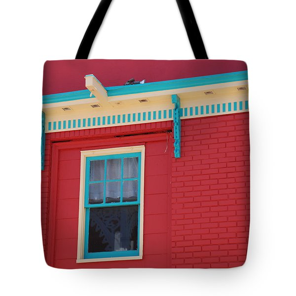 Tote Bag featuring the photograph Solitary Window by Richard Bryce and Family