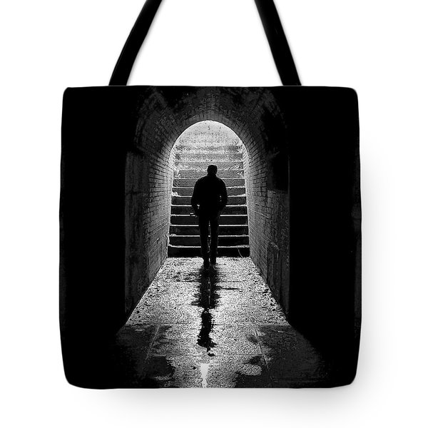 Solitude - Ascending To The Light Tote Bag